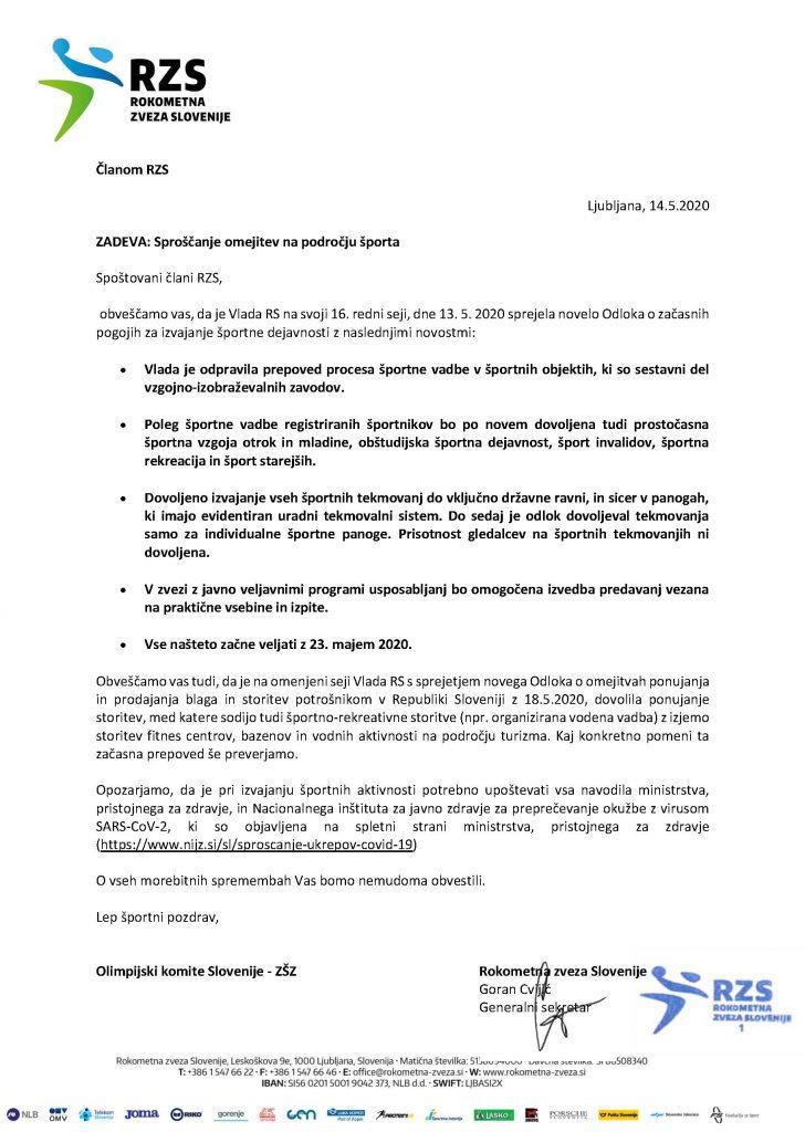 Obvestilo_odlok Vlade RZS_13.5.2020