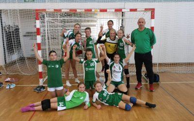 Turnir mlajših deklic B v Ljubljani